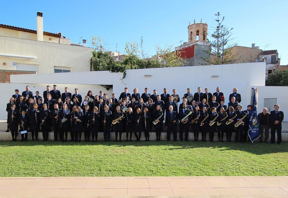 Els actes del 175è aniversari arrenquen el 7 de març a la plaça de l'Ajuntament amb el concert Dones i Música.   Banda Municipal d'Alcanar