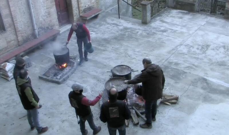 Per la diada de Santa Llúcia, Gelida ja va celebrar la tradicional escudella amb restriccions