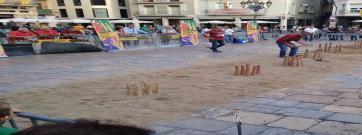 El festival Reus Juga convida a descobrir els jocs tradicionals catalans