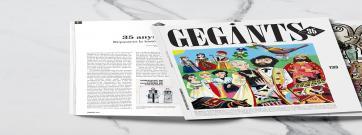 La revista 'Gegants' celebra els seus 35 anys amb un número especial