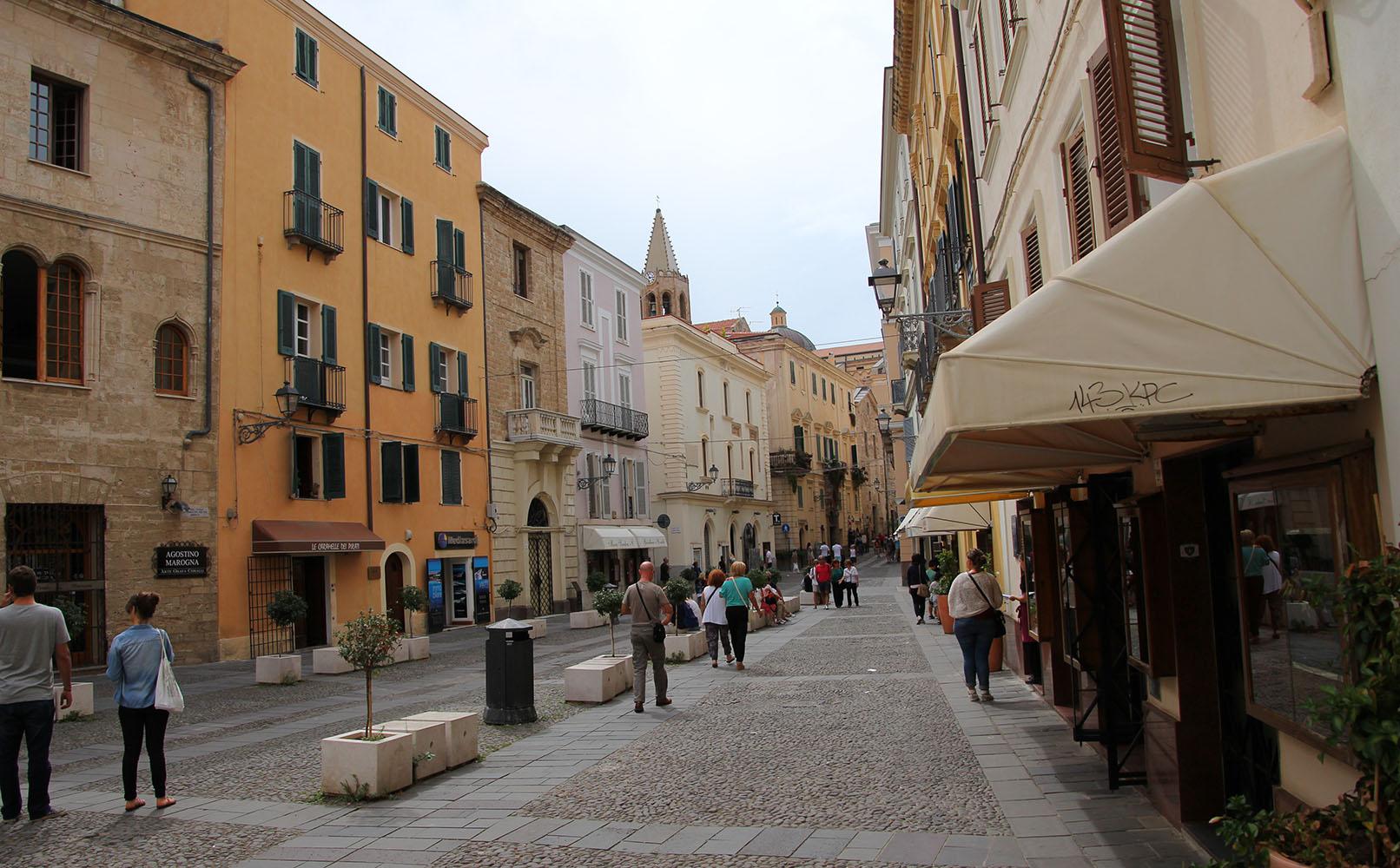 La Piazza Civica de l'Alguer serà l'escenari d'algunes de les activitats del 33è Aplec Internacional