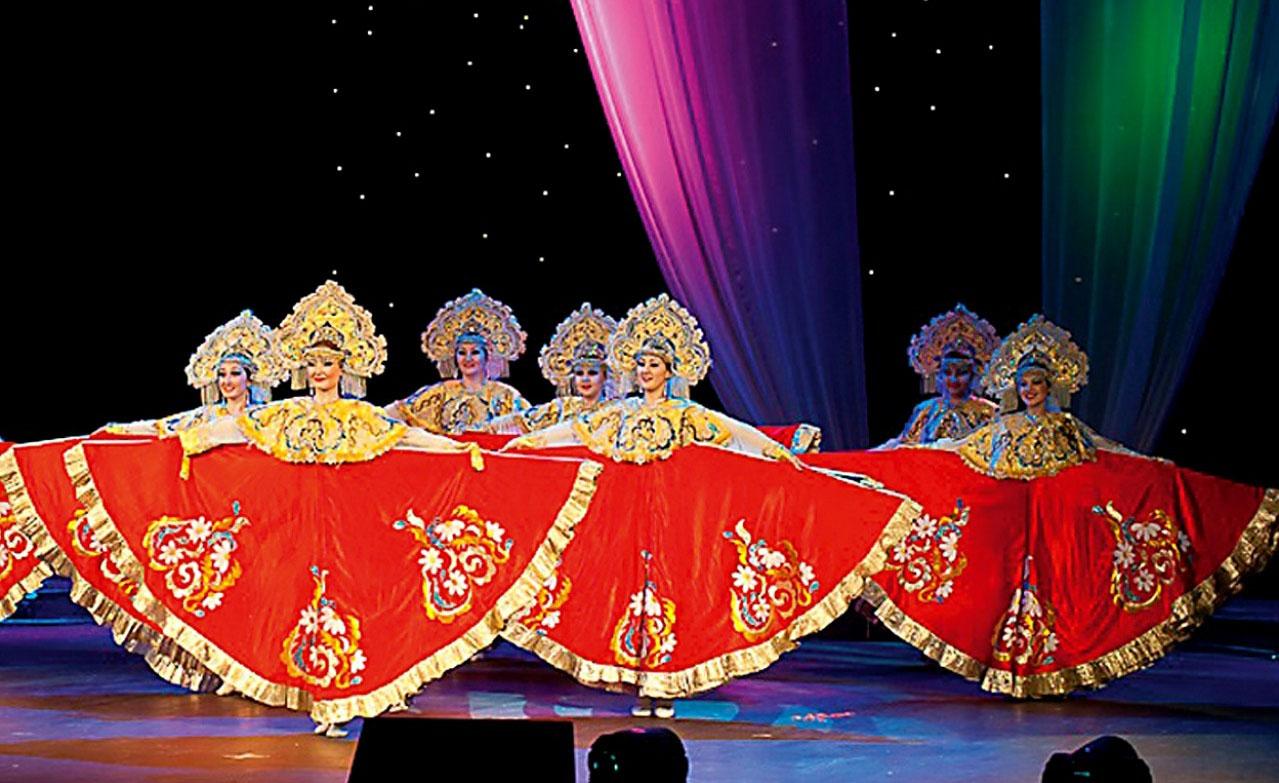 El ballet folklòric Krujevà, de la República russa de Baixkíria