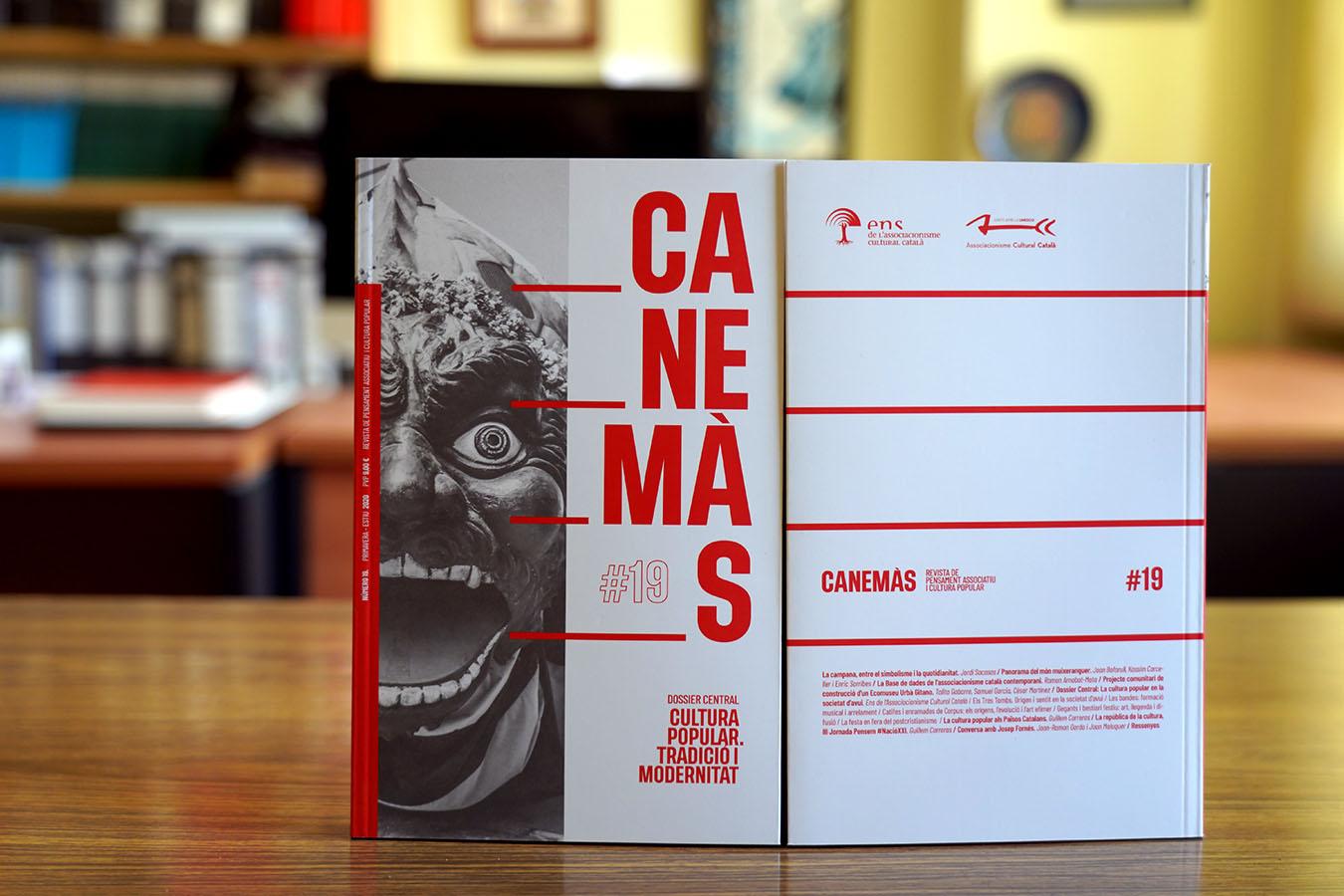 El Canemàs 19 presenta una imatge renovada per tal d'arribar a més públic i al conjunt de col·lectius de cultura populars