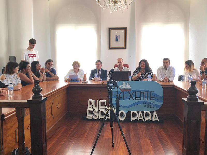 Els catifaires catalans participen a la IV Trobada Internacional de Catifaires de Bueu