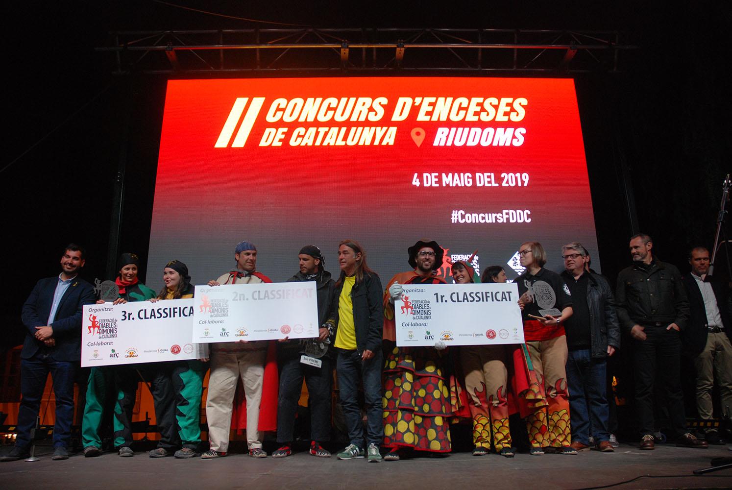 El 2n Concurs Nacional d'Enceses de Catalunya encén Riudoms