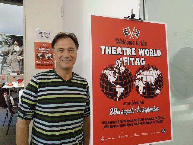 Martí Peraferrer, en una imatge de la presentació del 18a edició del FITAG