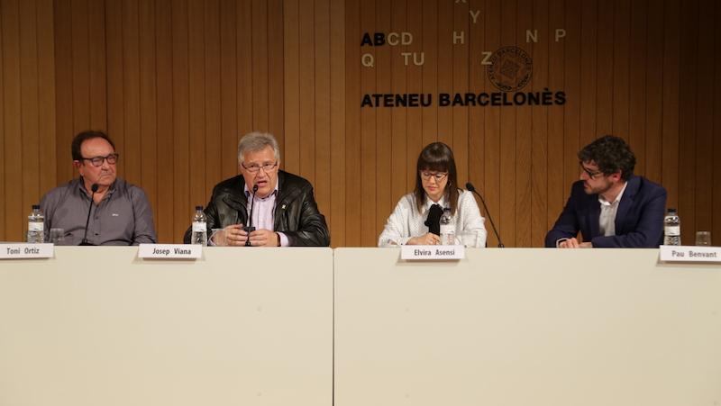 Els ponents de la taula rodona 'Les bandes: formació musical i arrelament' | Àlvar Andrés