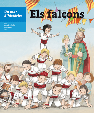 Un llibre infantil posa en valor la tradició dels falcons
