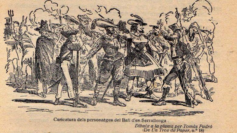 En el segle XIV, el Ball de Serrallonga era molt popular al Camp de Tarragona
