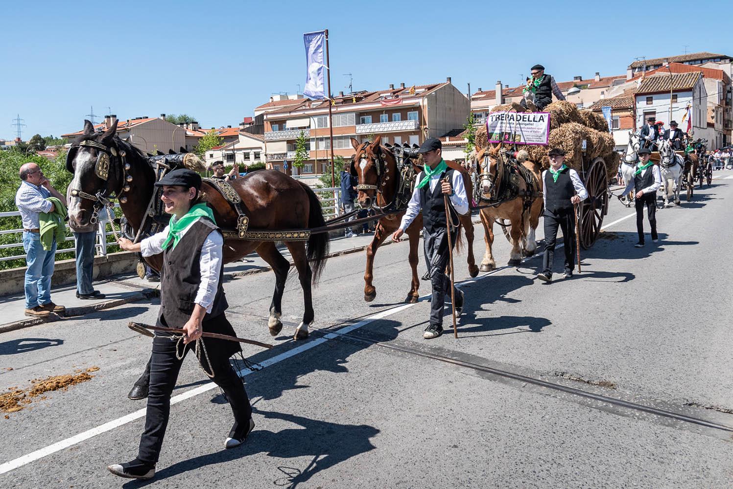 La festa dels Tres Tombs, amb prop de 90 passades, és una de les més multitudinàries de Catalunya.