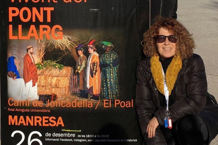 Des del març, Àngels Serentill és la presidenta de la Federació de Pessebres Vivents de Catalunya