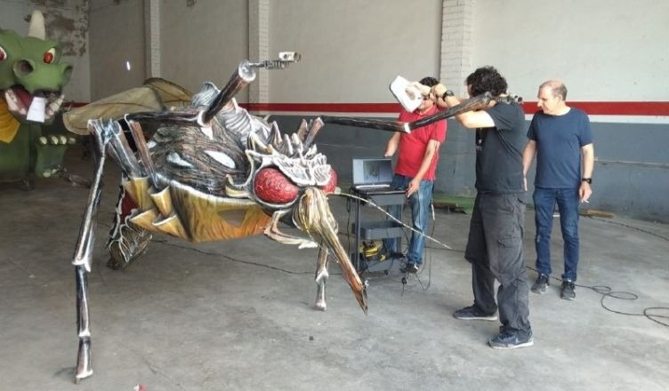 Comença la segona fase del projecte de digitalització del bestiari festiu en 3D