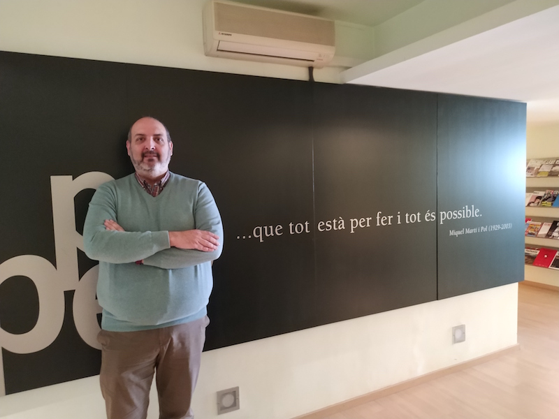 Germà Capdevila és el president de l'APPEC des de fa tres anys | Guillem Carreras