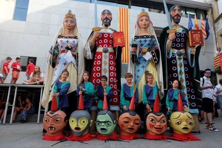 Castellteroç acollirà el darrer cap de setmana d'abril la 12a Fira del Món Geganter