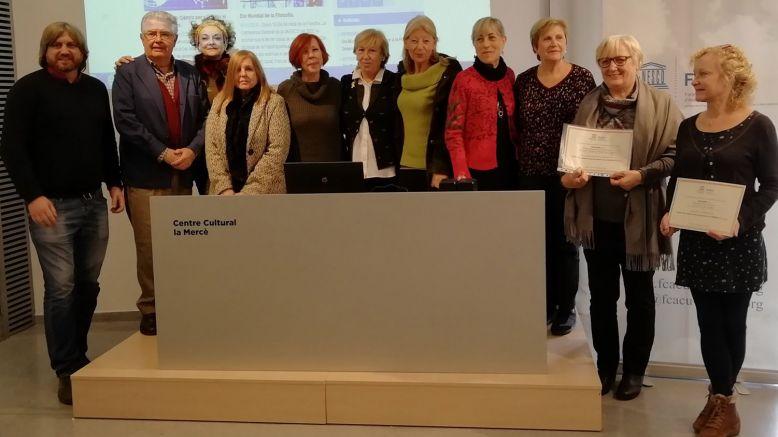 LA FCACU celebra els Premis 'Fem Cultura' dins de la Setmana UNESCO 2019