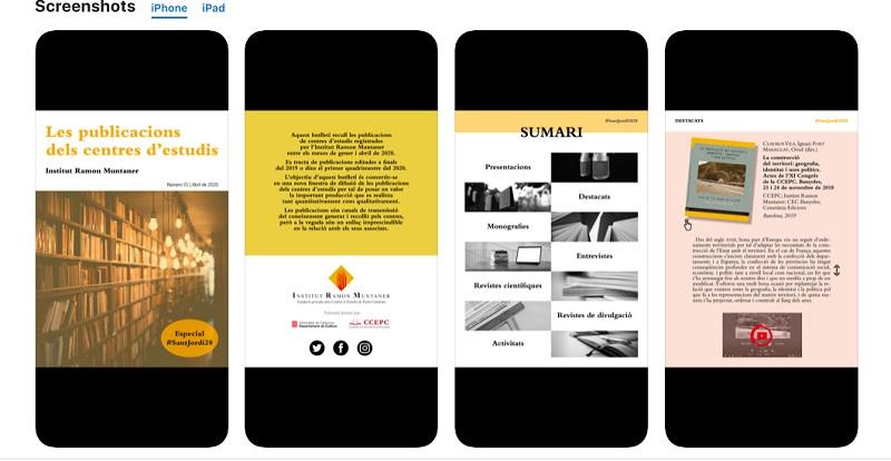 Neix una app per difondre la feina dels Centres d'Estudis