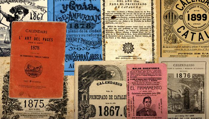 La fascinant tradició dels calendaris i almanacs, a la Casa dels Entremesos