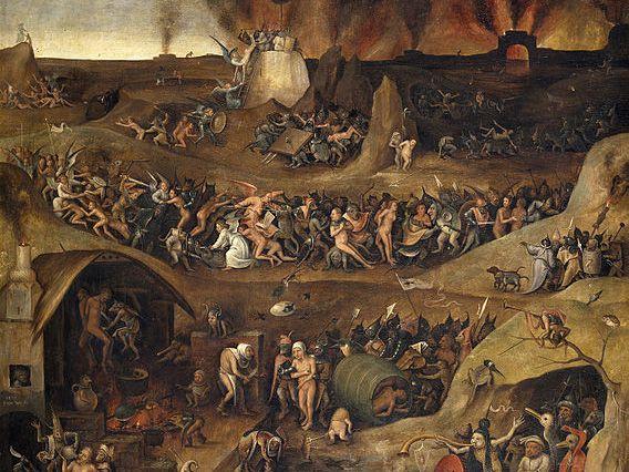 La llegenda de Pere Porter, el català que va viatjar a l'infern