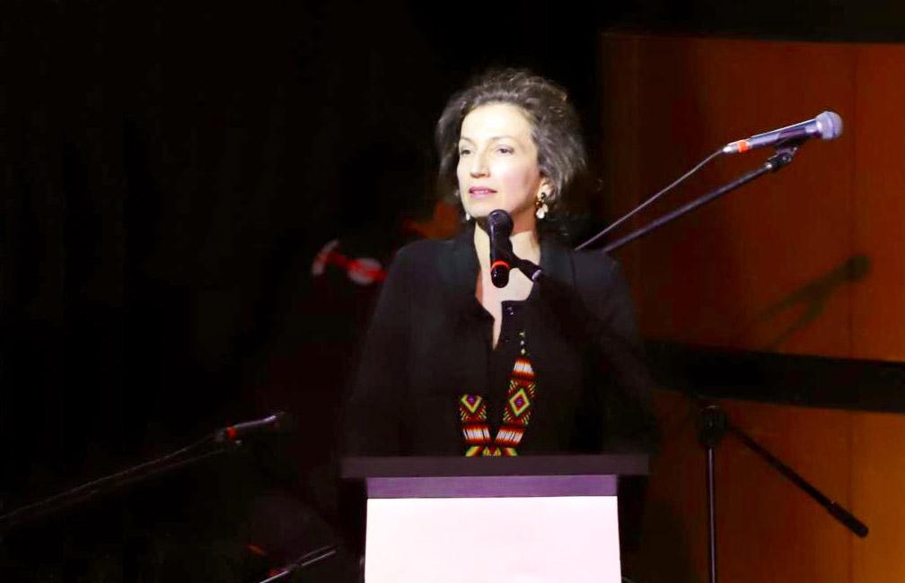 Audrey Azoulay defensa la cultura com a via de superació dels conflictes
