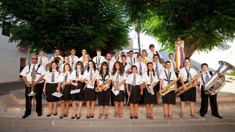 La Banda de Sant Llorenç de la Galera actuarà conjuntament amb la banda de la FCSM. | Olga Ralda