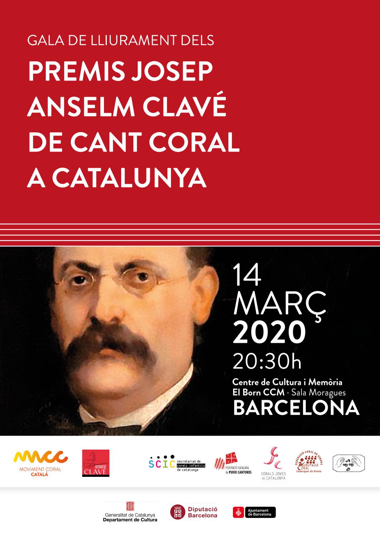 Oberta la convocatòria dels Premis Josep Anselm Clavé del Cant Coral a Catalunya