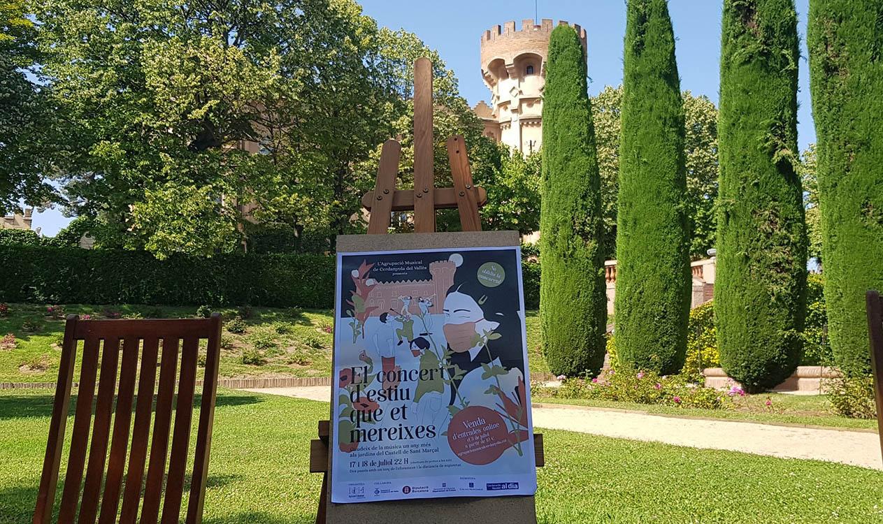 El Castell de Sant Marçal acollirà una edició especial del tradicional concert el 17 i 18 de juliol