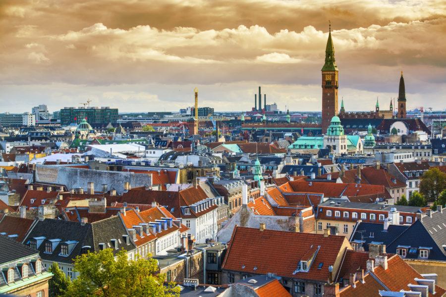 Imatge aèria de Copenhaguen