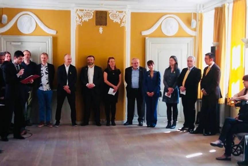 El 32è Aplec Internacional d'Adifolk contagia l'entusiasme per la cultura popular catalana als danesos
