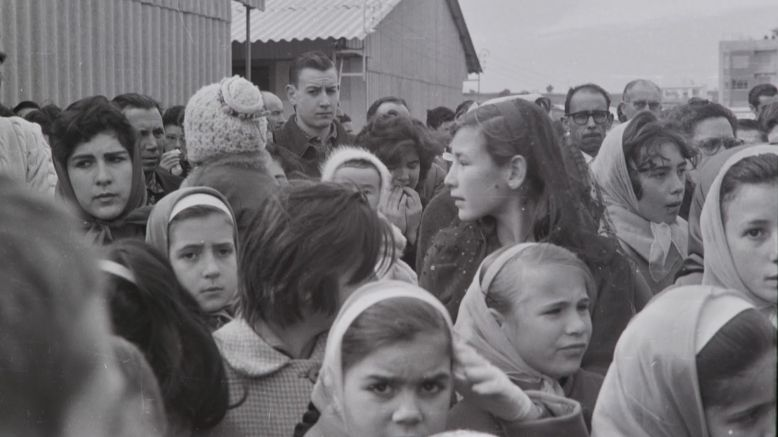 Imatge d'immigrants andalusos a Rubí | Josep Feliubadaló