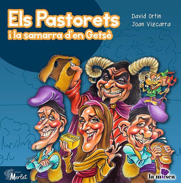 El caricaturista Vizcarra s'inspira en Els Pastorets de l'Espluga per il·lustrar un nou conte de David Ortín