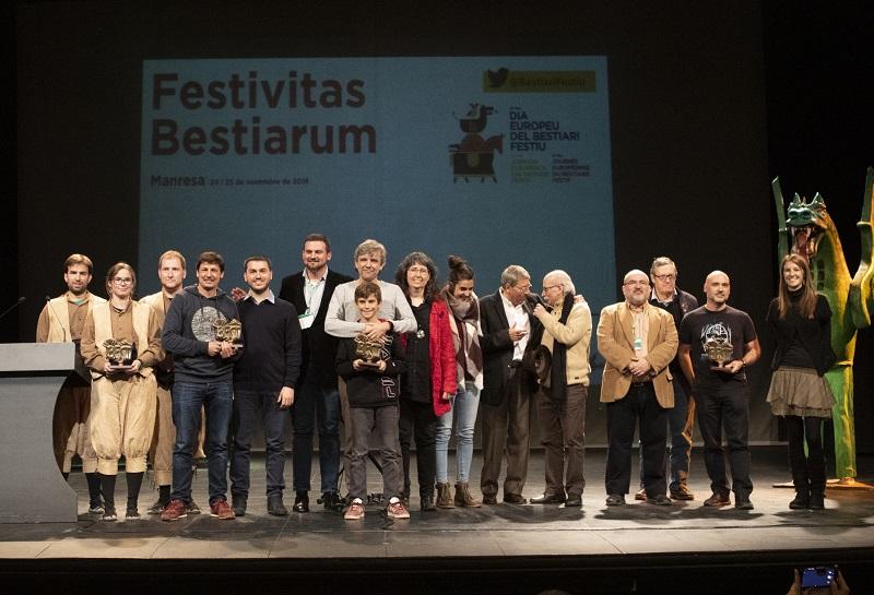Foto de família de tots els guanyadors dels Premis BEST 2018