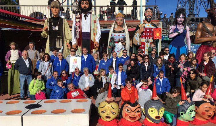 La Fira del Món Geganter va tornar a oferir un extens programa d'activitats