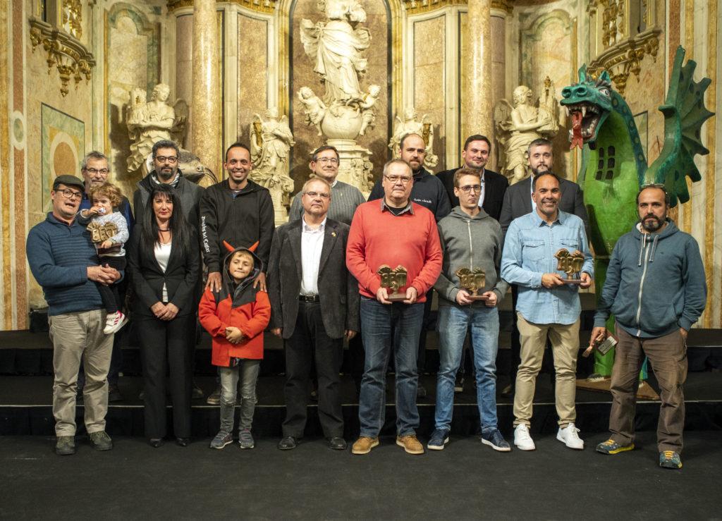 Guardonats en l'edició anterior del Festivitas Bestiarum a Cervera   Jordi Gatell
