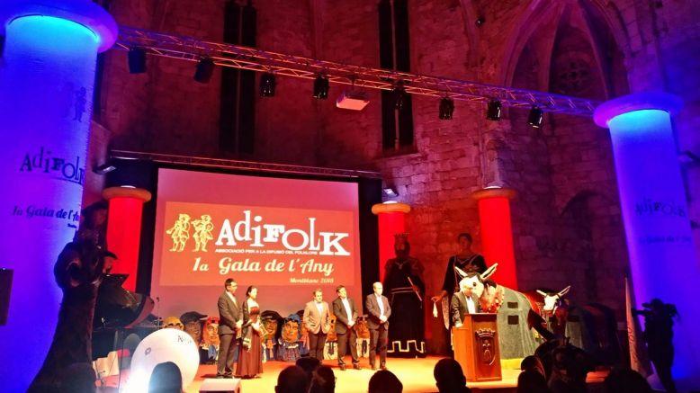 La 1a Gala de l'Any d'Adifolk es va celebrar a Montblanc